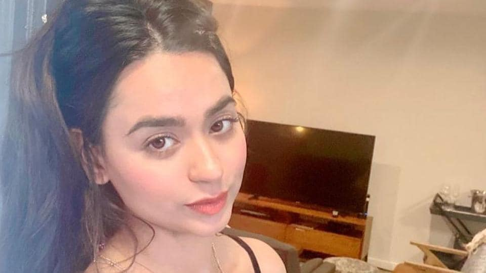 Soundarya Sharma is stranded in the US currently.