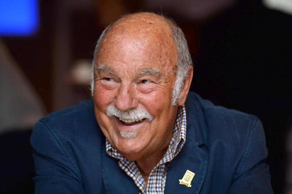Former footballer Jimmy Greaves during the launch Mandatory Credit: Action Images / Tony O'Brien/File Photo