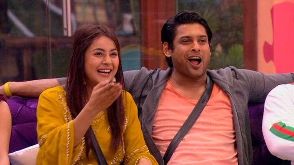 Shehnaaz Gill and Siddharth Shukla in a picture from Bigg Boss 13.