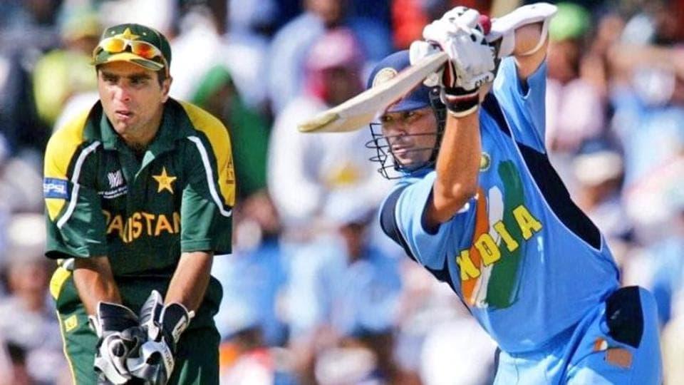 Sachin Tendulkar against Pakistan in World Cup 2003