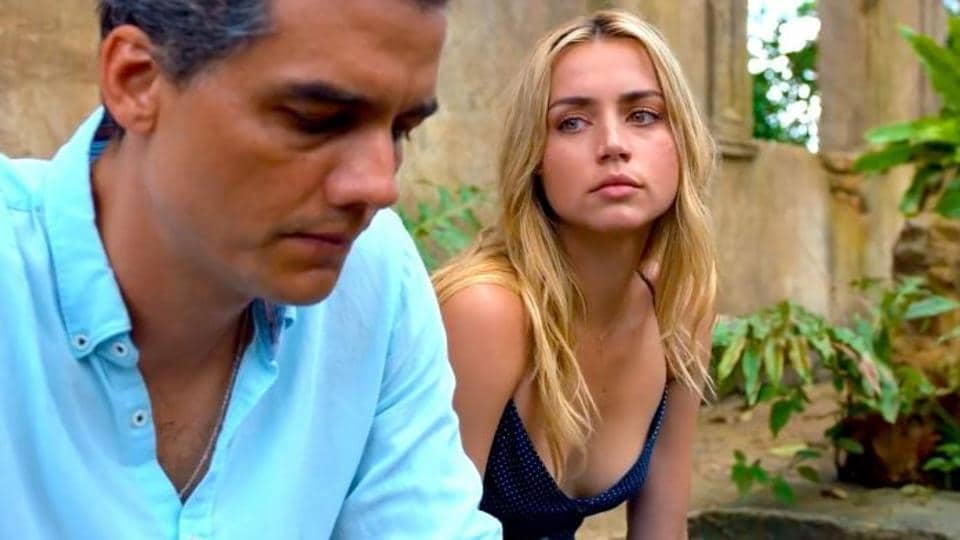 Sergio movie review: Wagner Moura and Ana de Armas in a still from the new Netflix film.