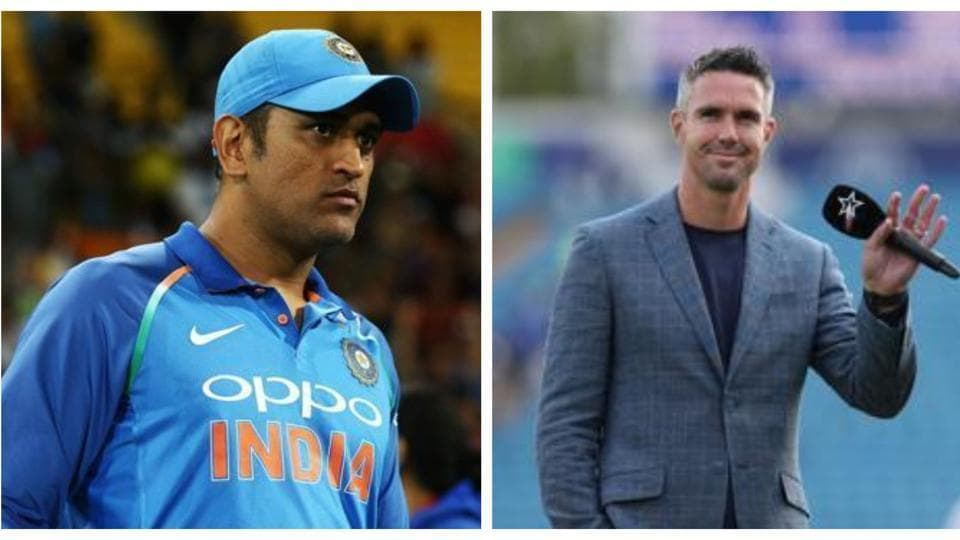 MS Dhoni and Kevin Pietersen.