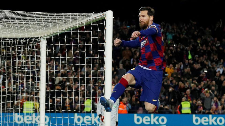 File image of Lionel Messi