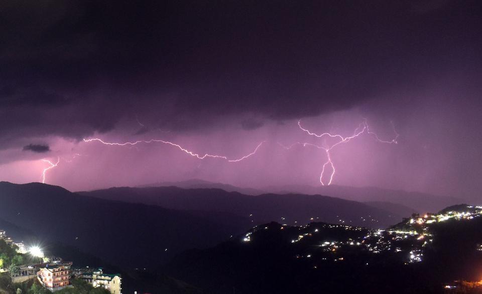 The met department has forecast  rain in Himachal Pradesh till August 31.