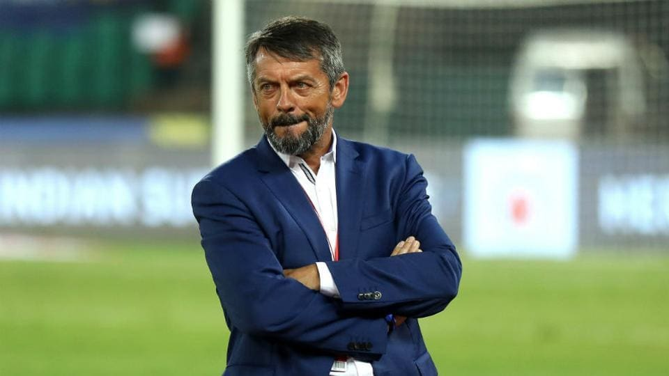Former coach of Hyderabad FC Phil Brown.