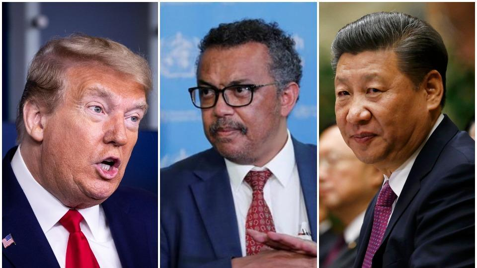 US President Donald Trump's shrill attacks on China and the WHO come ahead of the World Health Assembly scheduled for May 18