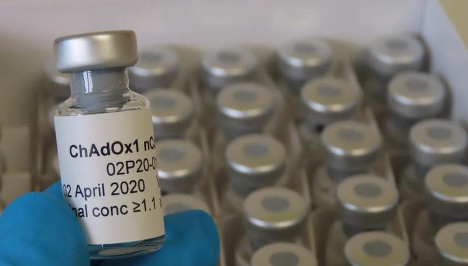 This is the vaccine candidate to be used in Phase 1 clinical trial of an early coronavirus vaccine  at the Clinical Biomanufacturing Facility (CBF) in Oxford, Britain, April 2, 2020. Picture taken April 2, 2020.