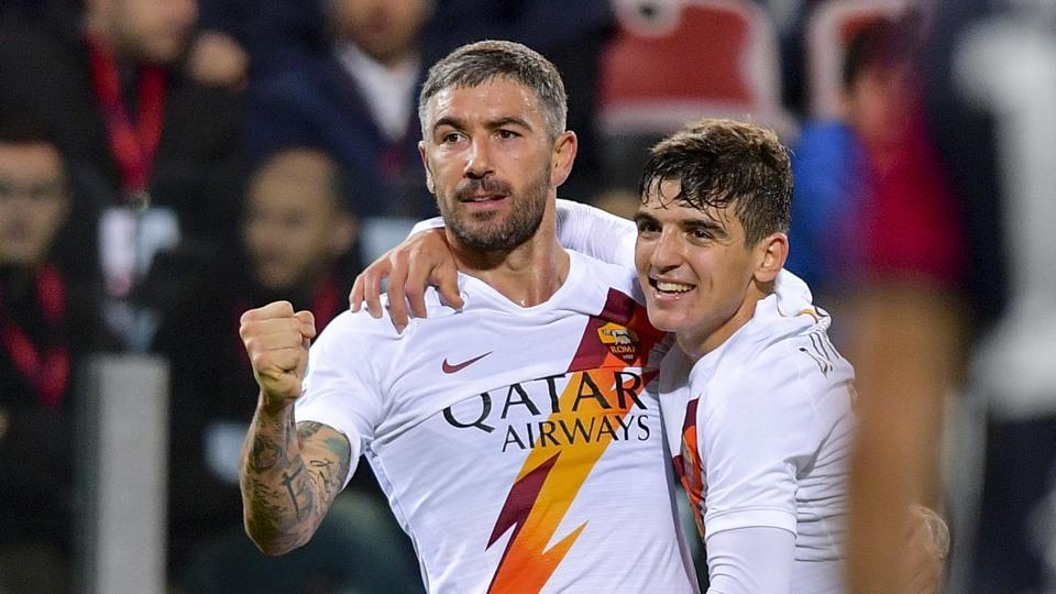 File image of Roma players.