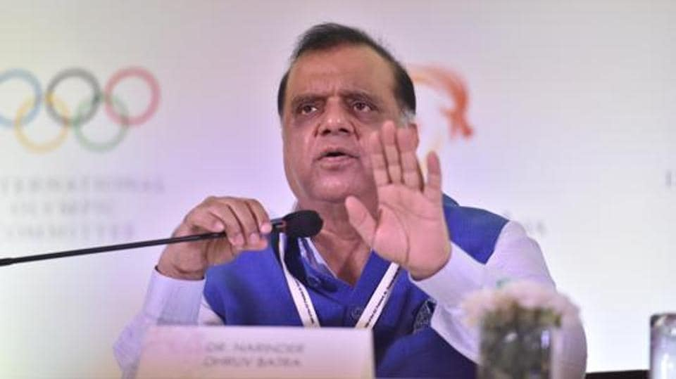 President of the Indian Olympic Association (IOA) Dr. Narinder Dhruv Batra.
