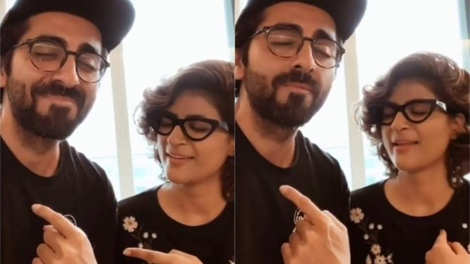 Ayushmann Khurrana and Tahira Kashyap looked super confident about their opinions about each other in a rapidfire.