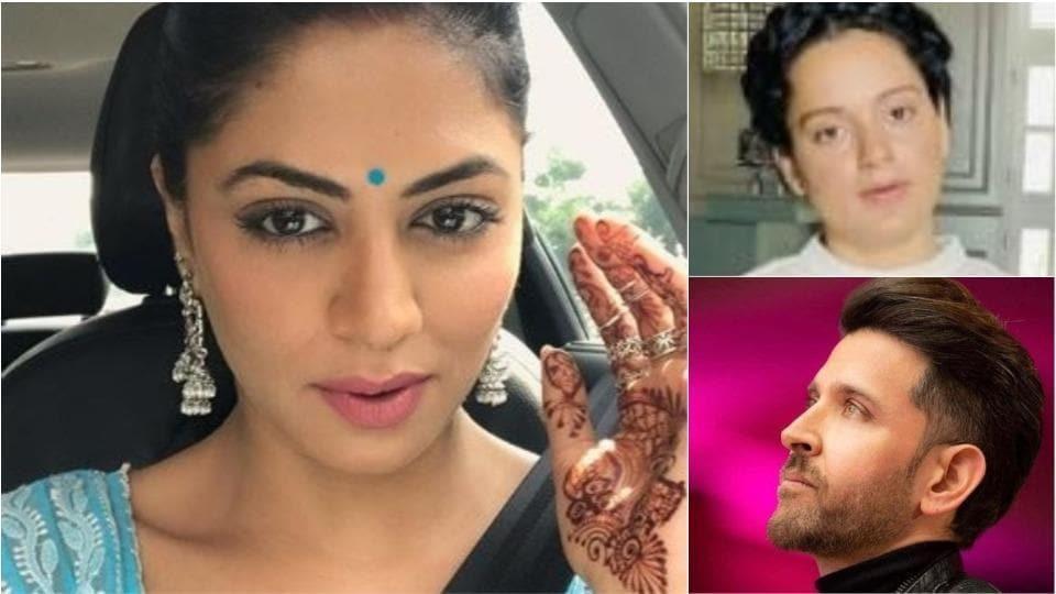 Kavita Kaushik has tweeted about Hrithik Roshan-Kangana Ranaut controversy.