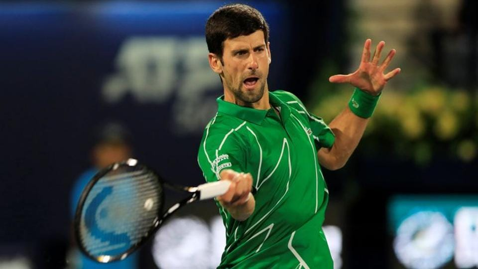 A file photo of Novak Djokovic.
