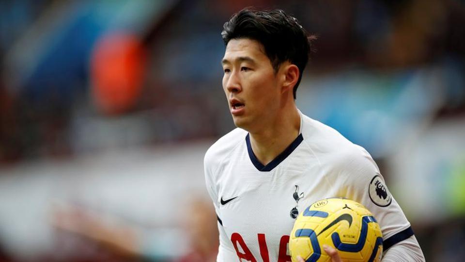 Tottenham Hotspur's Son Heung-min.