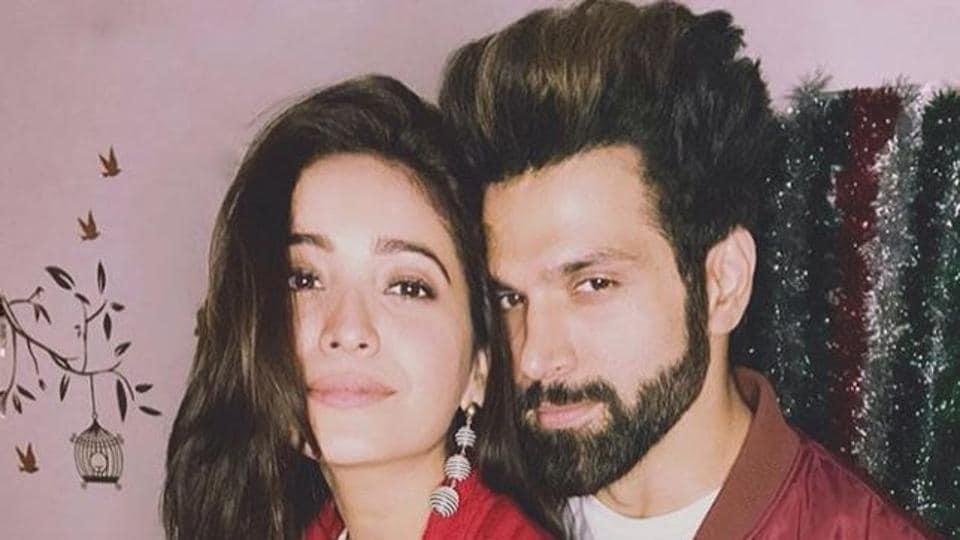 Rijhvik Dhanjani and Asha Negi in good times.