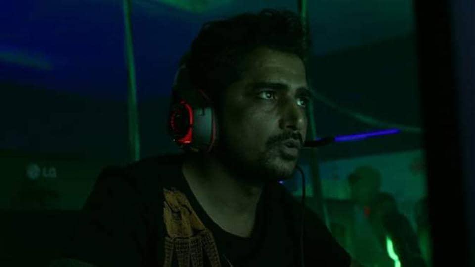 Ajay Jethi in a still from Money Heist.