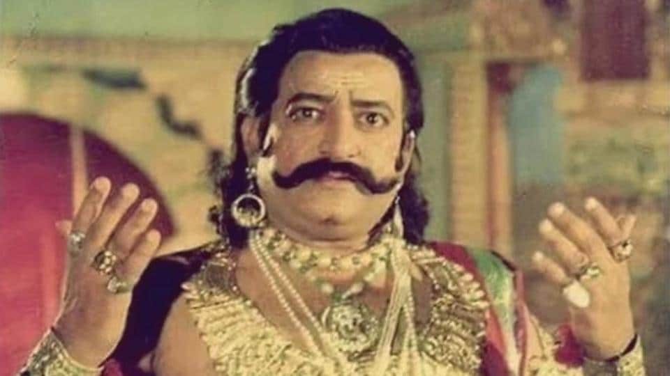 Ramayan: Raavan actor Arvind Trivedi originally turned down role, but  Paresh Rawal convinced him to change his mind - Hindustan Times