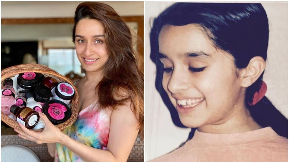 Shraddha Kapoor often shares throwback pictures from her childhood.