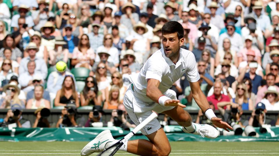 FILE PHOTO:  Serbia's Novak Djokovic in action