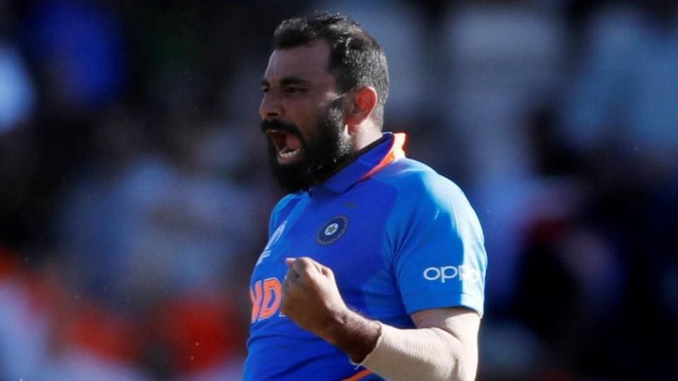 A file photo of Mohammed Shami.
