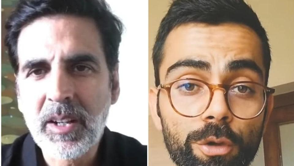Akshay Kumar To Virat Kohli Celebs Embrace Their Grey Strands Amid Lockdown Fashion And Trends Hindustan Times