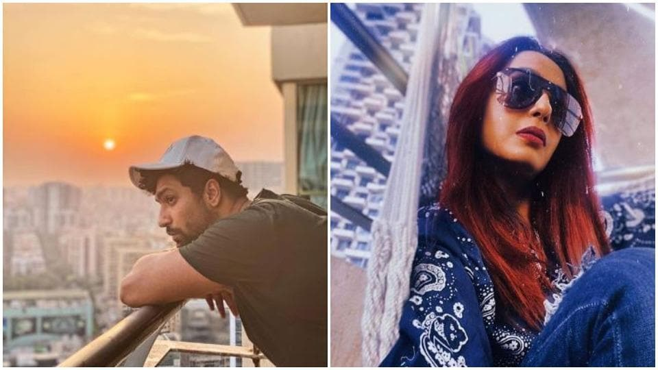 Vicky Kaushal and Kashmera Shah's building is in lockdown.