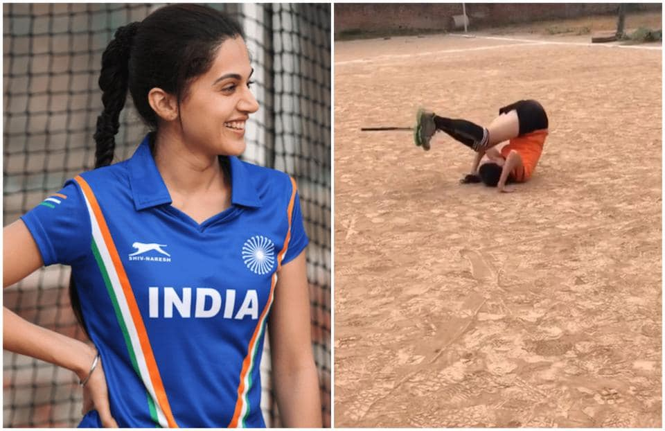 Taapsee Pannu played a hockey player in Soorma.