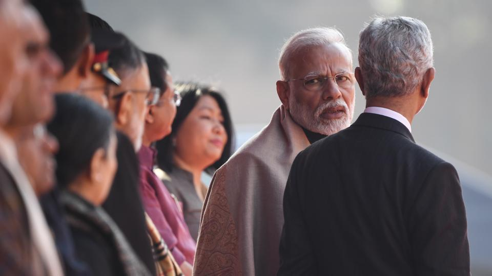 Prime Minister Narendra Modi has told Foreign Minister Jaishankar that no one forgets help extended during a crisis