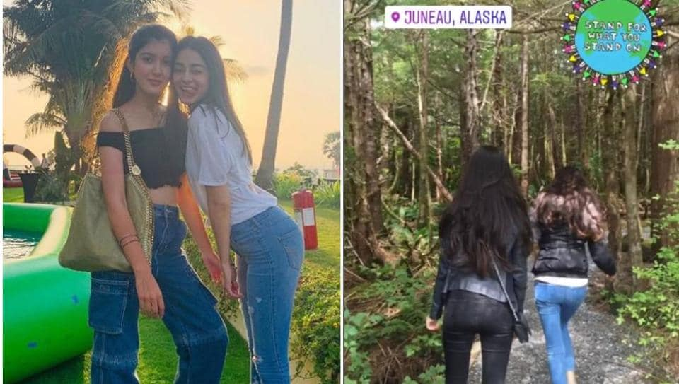 Ananya Panday shares new picture on Earth Day from her Alaskan holiday.