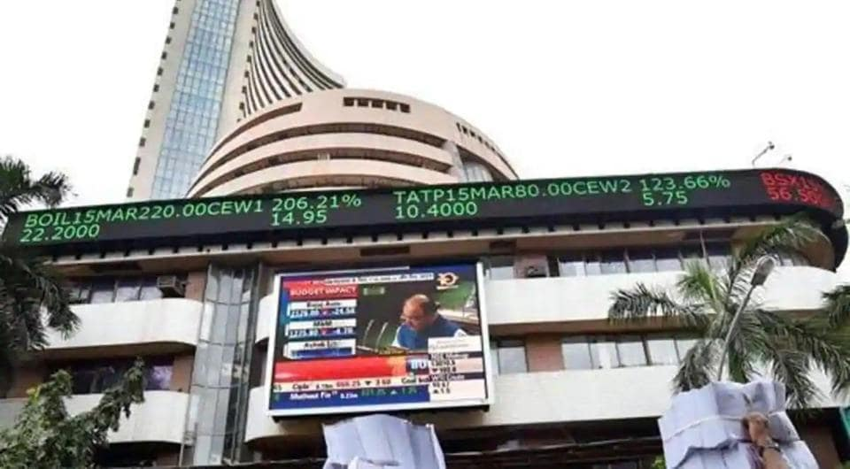 Indian equity indices opened in red on Friday.