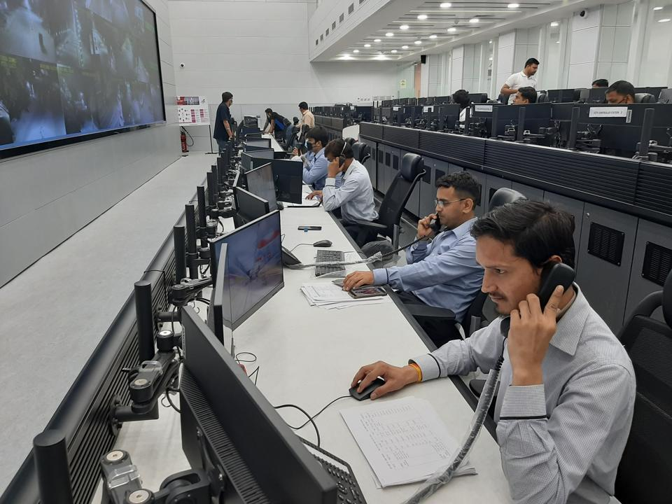 Agra Smart City's Integrated Command & Control Centre (ICCC) converted to Covid-19 War Room.