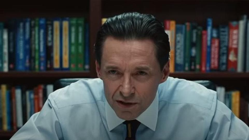 Bad Education movie review: Hugh Jackman sinks his teeth into a deliciously twisted character in satirical HBO film.