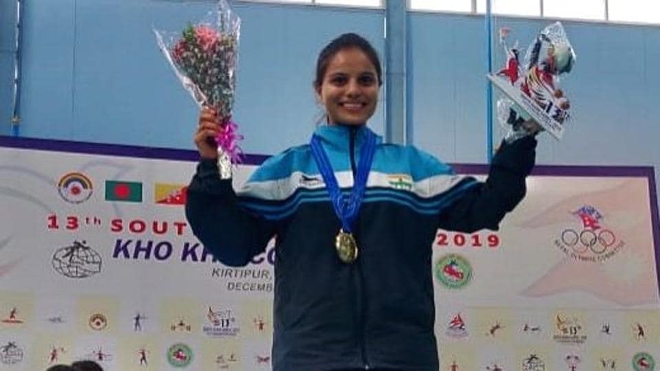 India's Kho Kho captain Nasreen Sheikh