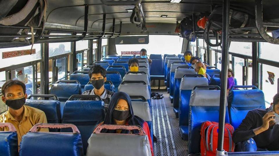 The passenger load was 60 per cent of the bus capacity and 35 per cent of them booked tickets online.