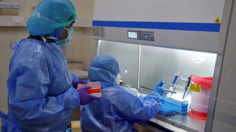 State government officials said there was huge pressure on government labs to conduct Covid-19 tests because they are free; private labs charge Rs 4500 for each test.