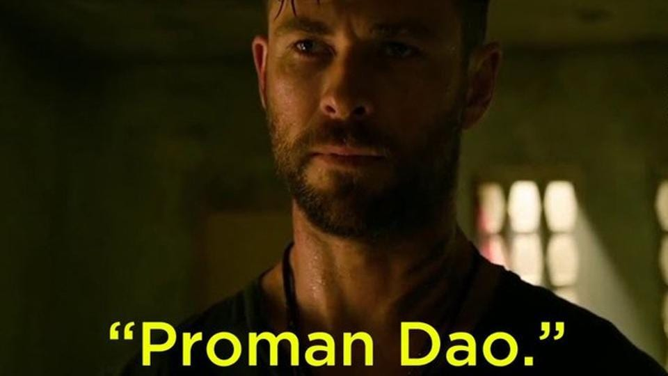 Extraction Mumbai Police Shares Meme Of Chris Hemsworth Speaking Bangla Says It Won T Be As Kind As Tyler Rake Hollywood Hindustan Times