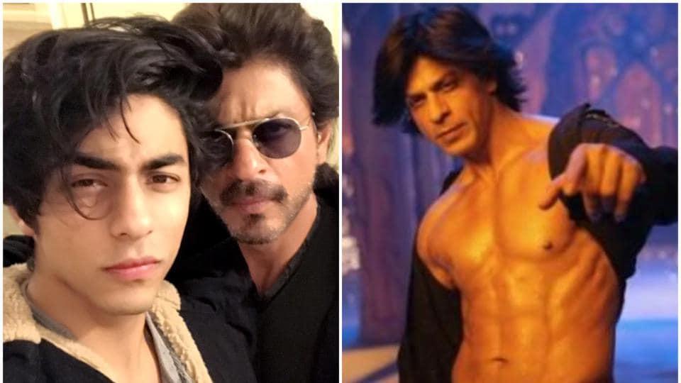 ShahRukh Khan got six-pack abs in Om Shanti Om because of son Aryan Khan.