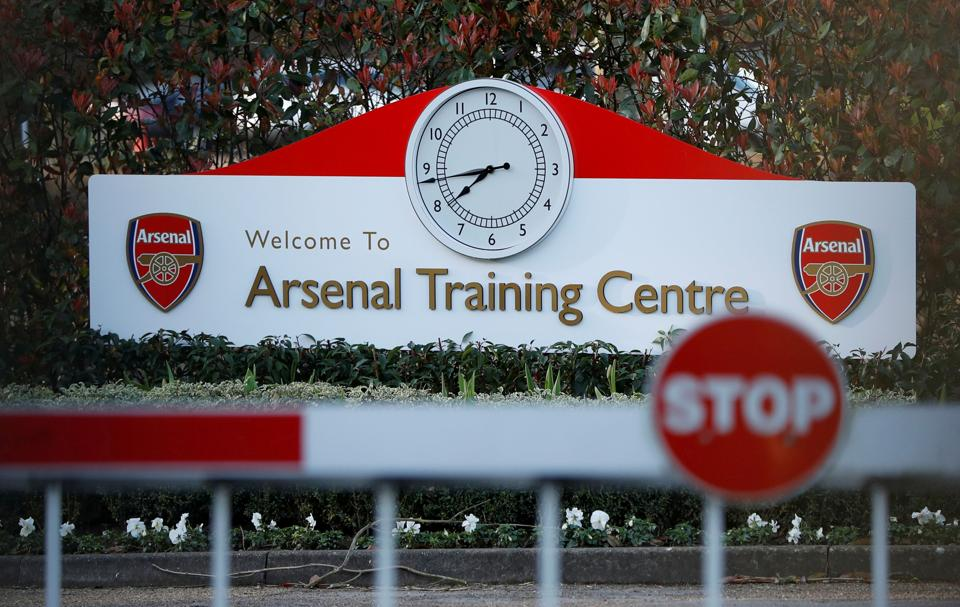 General view outside of Arsenal's Training Ground in London