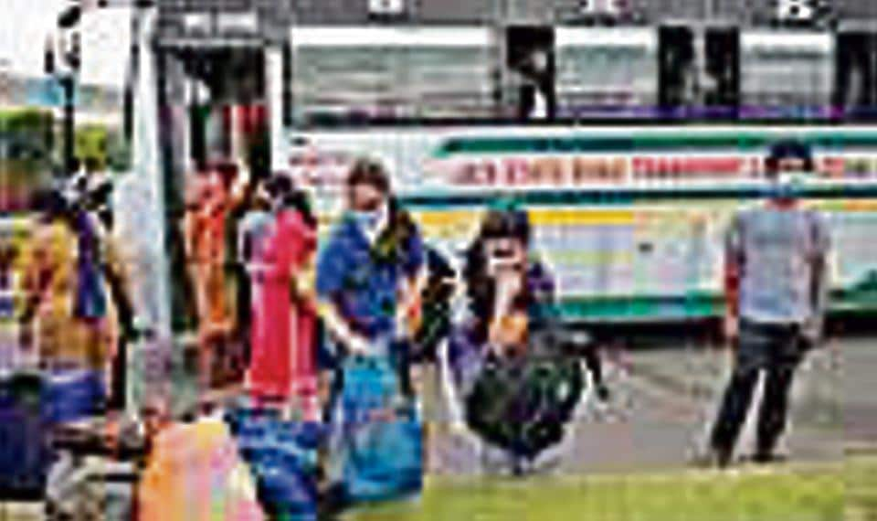 As many as 369 Jammu and Kashmir and Ladakh students, who were stranded in Kota, Rajasthan, returned to Jammu on Monday.