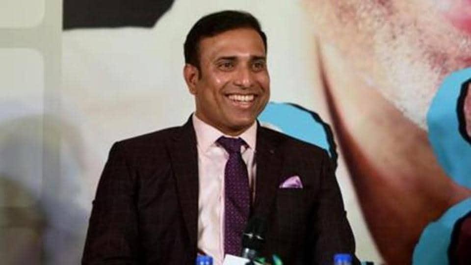 Former Indian Cricketer VVS Laxman )