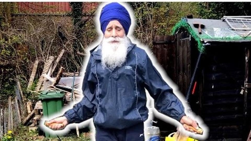 Rajinder Singh's love of skipping was sparked by his father many years ago and he now wants to be a role model to others in his community.