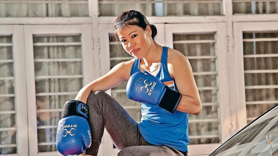 Mary Kom is enjoying spending time with her four kids, rustling up their favourite dishes.