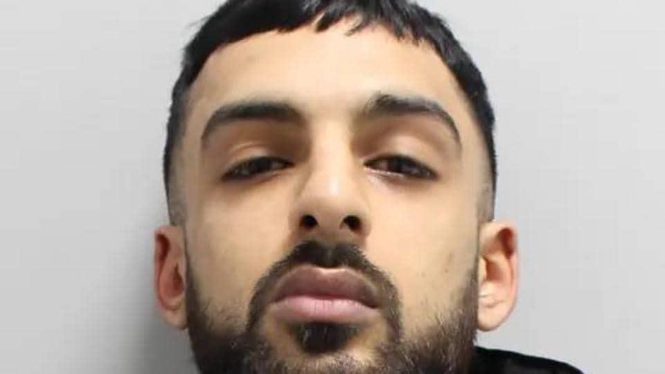 Indian-origin man Karan Singh, 23, who spat in cop's face. (Photo Credit: Scotland Yard)