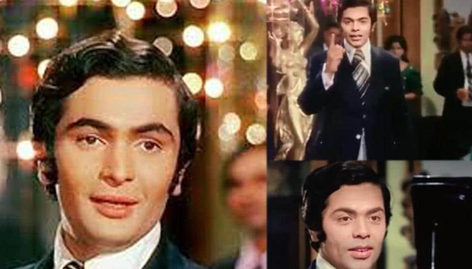 Karan Johar replaces Rishi Kapoor in funny version of Main Shayar To Nahin.