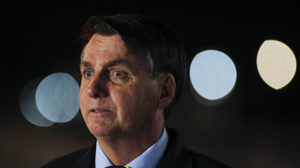 """A Brazilian supreme court judge on Monday ordered an investigation into accusations by ex-justice and security minister Sergio Moro that President Jair Bolsonaro sought to """"interfere"""" with police investigations."""