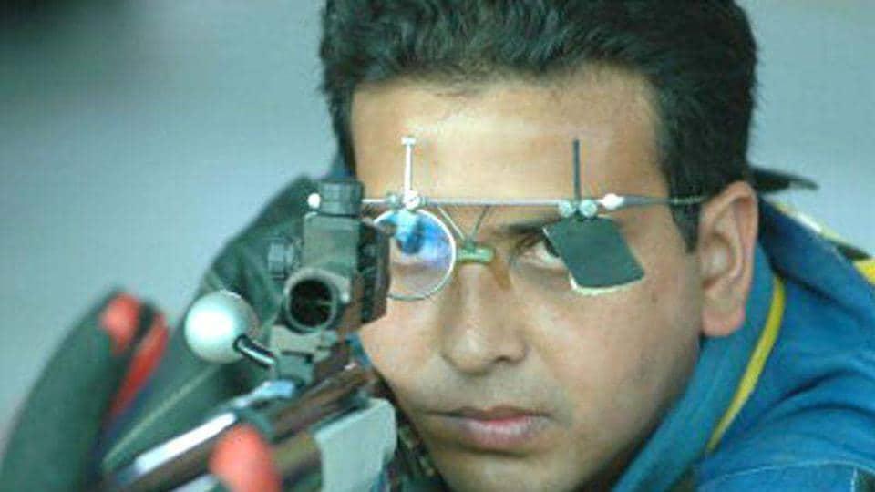 Joydeep Karmakar (50m Rifle Prone).
