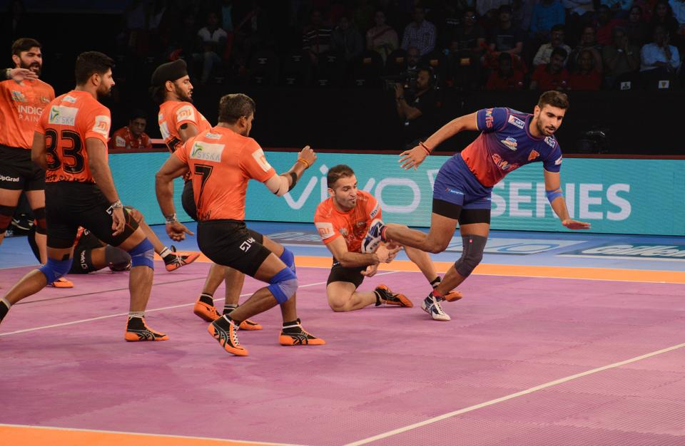 Representative image of the Pro Kabaddi League.