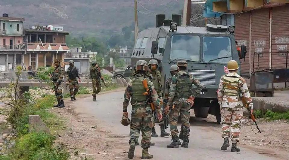A joint team of the Indian Army, police and the Central Reserve Police Force (CRPF) had launched a search operation in Melhora village.