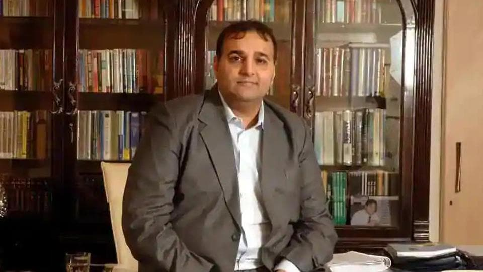 Kapil Wadhawan Chairman and Managing Director DHFL in his Mumbai office.
