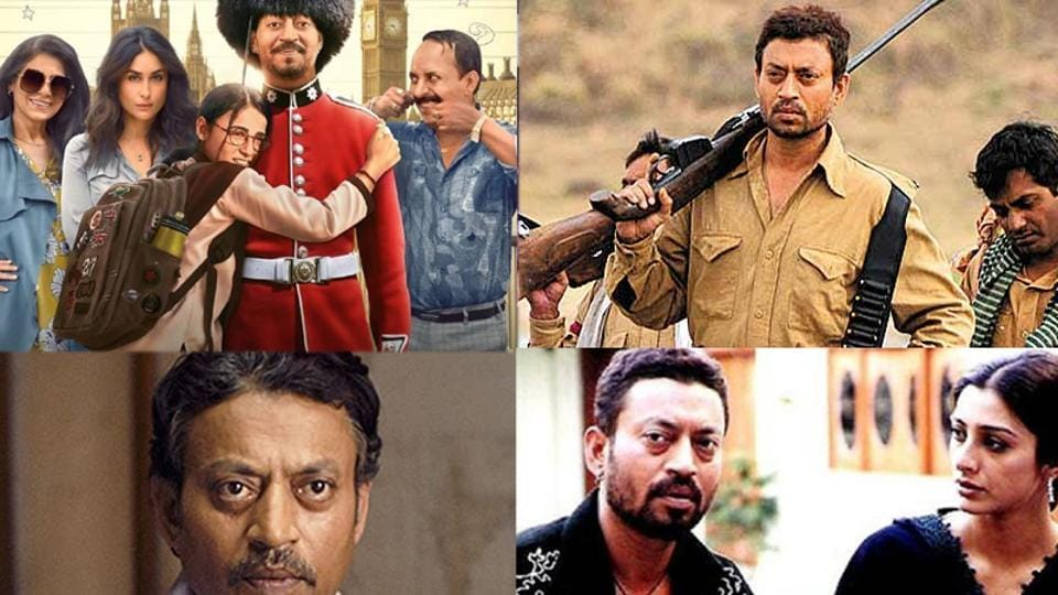 Irrfan Khan has delivered some remarkable films in his Bollywood care