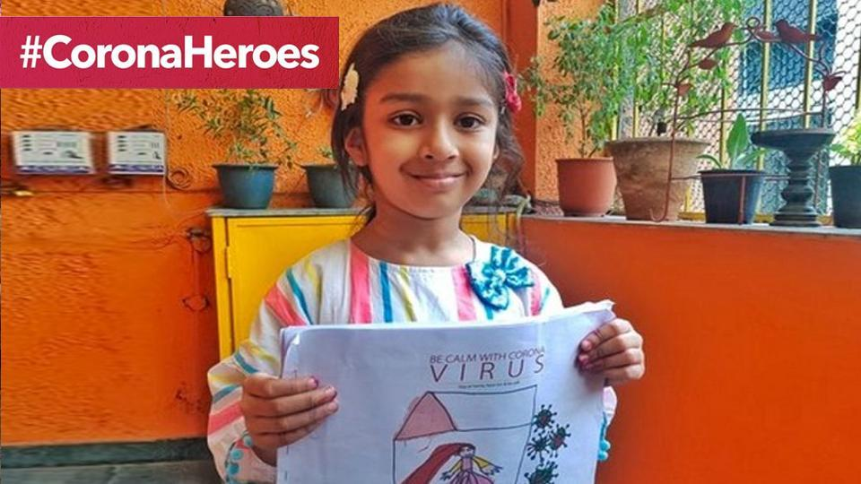 5-year-old Aranya Dutt Bedi has decided to help them with all the money she has in her earthen piggy bank.
